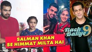 Vivek Suhag And Babita Phogat At Nach Baliye 9 Success Party | Salman Khan Show