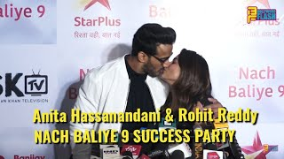 Anita Hassnandani & Rohit Reddy At NACH BALIYE 9 SUCCESS PARTY