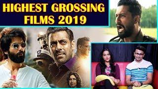 Highest Grossing Bollywood Movies 2019   Bharat URI Kesari, Total Dhamaal, Kabir Singh