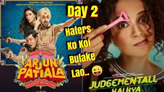 Judgementall Hai Kya Vs Arjun Patiala Box Office Collection Day 2 Haters Will Now Be Silent