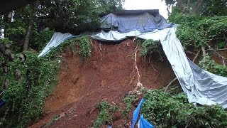 Landslide At Boca De Vaca Due To Rainfall