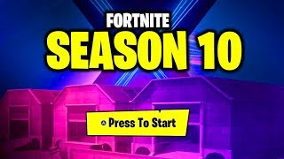 DUSTY DEPOT FORTNITE SEASON 10 TEASER! OFFICIAL FORTNITE ANNOUNCEMENT - DUSTY DEPOT NEW MAP UPDATE