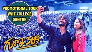 Guna 369 Movie Team In VVIT College | Karthikeya | Bhavani HD Movies