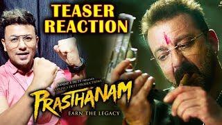 Prasthanam TEASER REACTION | Sanjay Dutt, Jackie Shroff, Manisha Koirala