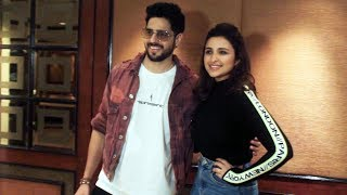 Jabariya Jodi Promotion | Parineeti Chopra And Sidharth Malhotra Spotted