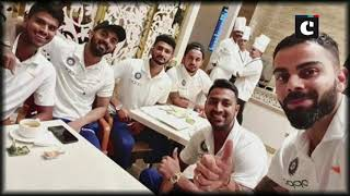 Kohli shares image with teammates as 'Men in Blue' depart for WI tour