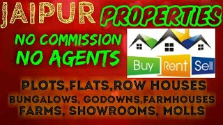 JAIPUR    PROPERTIES   Sell Buy Rent    Flats  Plots  Bungalows  Row Houses  Shops 1280x720 3 78Mbps