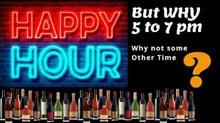 Why it is called HAPPY HOUR | in Hindi | Why Does Happy Hour Exist | Cocktails India