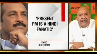 What will happen to the 'voice of sanity' when hate mongers like Vaiko find support from TV anchor!