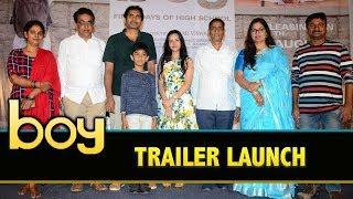 Boy Movie Trailer Launch || Lakshya Sinha, Sahiti || Amar Vishwaraj || Bhavani HD Movies