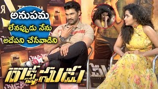 Bellamkonda Srinivas Hilarious Punches on Anupama | Rakshasudu | Bhavani HD Movies
