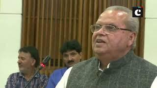 J & K Governor, Satya Pal Malik: Hindustan ko tod ke koi azadi nahi milegi