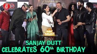 Sanjay Dutt Celebrates His 60th Birthday With Team 'Prasthanam'