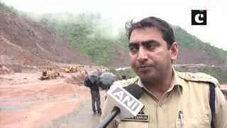 Jammu-Srinagar Highway shut due to landslides in Udhampur