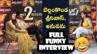 Bellamkonda Sreenivas & Anupama Parameswaran Hilarious Interview | Rakshasudu Movie | Daily Poster