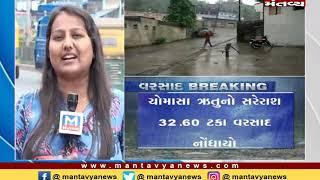 મુંબઇમાં મેધરાજાની ધમાકેદાર એન્ટ્રી - MantavyaNews