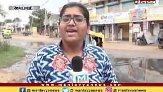 Ahmedabad: લાંભા વિસ્તારમાં ગટરના પાણી રોડ પર ઉભરાતા લોકોને હાલાકી - Mantavya News