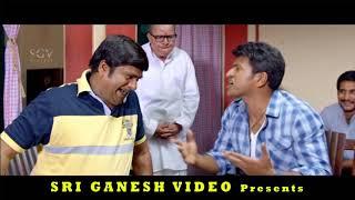 Puneeth Rajkumar and Rangayana Raghu Comedy Scenes || Kannada Movies