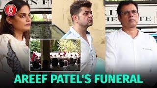 Atul Agnihotri Alvira Khan Daboo Ratnani And Others Attend Areef Patel's Funeral