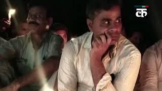 आज़म खान के बेटे ने यूपी सरकार के गुंडाराज के विरोध में निकाला कैंडल मार्च