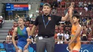 खंडवा की बेटी माधुरी पटेल ने यूरोप में किया देश का नाम रोशन, World Cadet Wrestling Championship