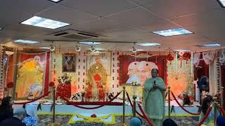 Satsang shared by Bhatia Aunty |Guruji bade mandir -Edison ,New Jersey|16 july 2k19