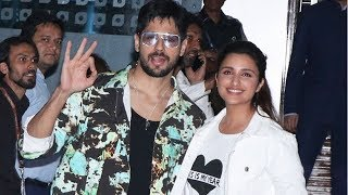 Jabariya Jodi Promotion Parineeti And Sidharth Malhotra Spotted At Airport