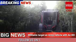 ENCOUNTER STARTS IN SHOPIAN, 2 TO 3 MILITANTS TRAPPED IN THE AREA,  MORE DETAILS AWAITED