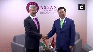 S Jaishankar meets Timor-Leste, Vietnam & Mongolia Foreign Ministers in Bangkok