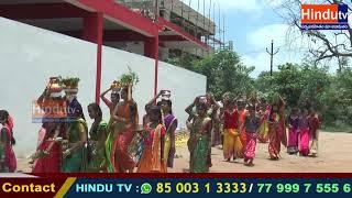 సిద్దిపేట SRIVANI HIGH SCHOOL వారి ఆధ్వర్యంలో అమ్మవారికి బోనాల పండుగ
