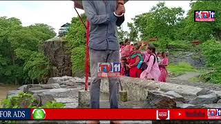 ADILABAD  DISTRICT WATER FALL HEAVY RAIN IN TELANGANA STATE