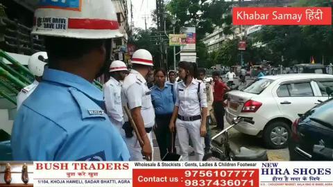 Siliguri Traffic Police on Action