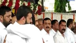 Jamakandorna | Funeral and final rites of Vthalbhai Radadia| ABTAK MEDIA