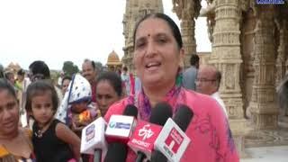 Jamnagar|  Hindola Darshan Festival is held in Swaminarayan Temple | ABTAK MEDIA