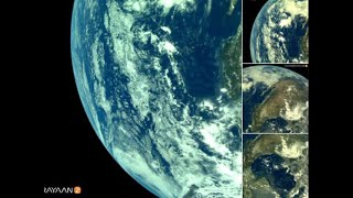 ISRO releases first pictures of earth from Chandrayaan-2