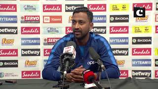 Krunal Pandya credits whole team for winning match against West Indies