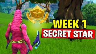 WEEK 1 SECRET BATTLE STAR LOCATION! Use the B.R.U.T.E. in different matches Fortnite Season 10