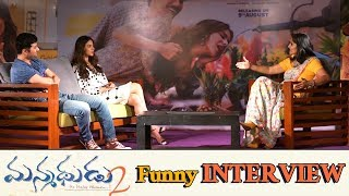 Manmadhudu 2 Movie Team Interview | Rakul Preet Singh | Rahul Ravindran | Nagarjuna