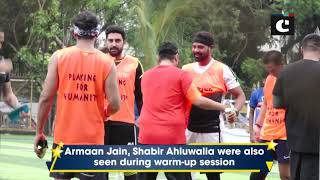 Abhishek Bachchan, Arjun Kapoor kick off another weekend football game