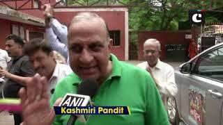 Kashmiri Pandits celebrate scrapping of Article 370