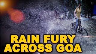 Rain Fury Across Goa: Normal Life Disrupted