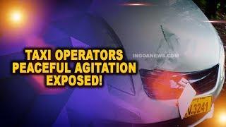 Local Taxi Operators Peaceful Agitation Exposed!