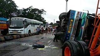 Zoo Park Road Par Hua Sadak Hadsa 10 Log Hue Zakmi | Bus Accident | @ SACH NEWS |