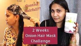 2 Weeks Challenge - Hairfall Control Onion Oil + Organic Bamboo Vinegar Hair Mask | Stop Hair Fall