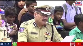 HYDERABAD POLICE COMMISSIONER OPERATION MUSKAN OPERATION SMILE SPECIAL DRIVE 874 CHILDRENS RESCUE