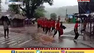 Dang:સુબિર તાલુકામાં વરસાદી પાણી ભરાયા