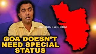 Goa doesn't need Special Status - CM