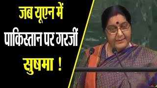 Historic Speech of Sushma Swaraj in UN | Sushma Swaraj Best Speech |