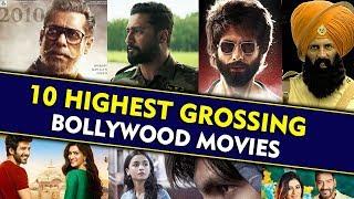 TOP 10 HIGHEST GROSSING FILMS OF 2019 | Kabir Singh, Bharat, Kesari