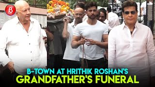 Bollywood Celebs Pay Homage To Hrithik Roshans Grandfather